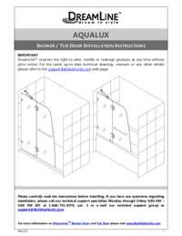 Aqualux Series Manual