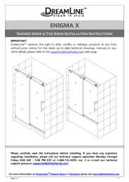Enigma-X Series Door Manual