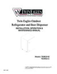 Installation, Operation & Maintenance Manual