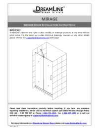 Mirage Series Manual