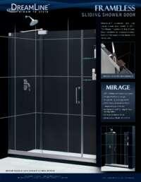 Mirage Series Shower Doors