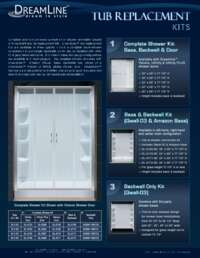 Shower Backwalls Info