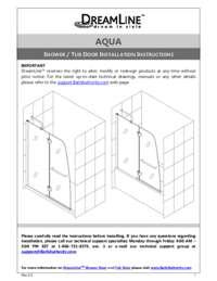 Aqua Series Manual