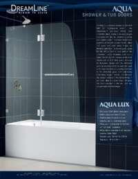 Aqualux Series Shower Doors Info