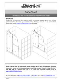 AquaLux Series Manual