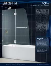 AquaUno Series Shower Doors Info