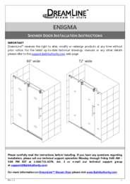 Enigma Series Door Manual