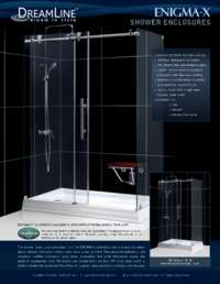 Enigma-X Series Shower Doors Info