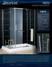 Vista Series Shower Enclosures Info