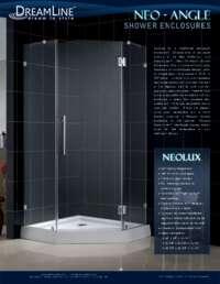 Dreamline Neo Angle Shower Enclosure Info