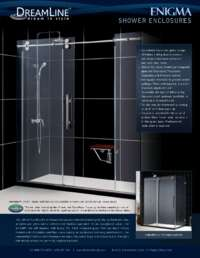 Enigma Series Shower Doors Info