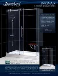 Enigma-X Series Shower Eclosure Info