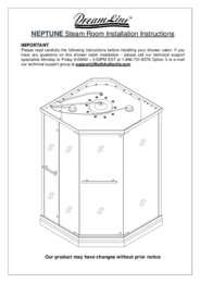 Neptune Series Shower Enclosure Manual