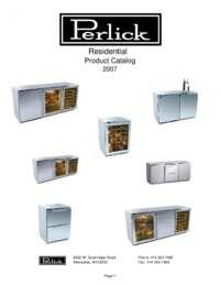 Perlick Catalog
