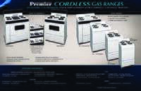 Cordless Gas Range Product Overview
