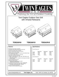 Gas Grill Feature Sheet