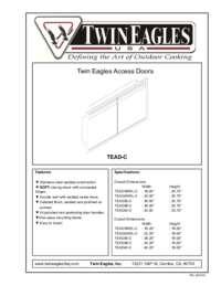 Access Doors Features Sheet