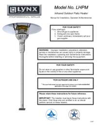 PATIO HEATER OWNERS MANUAL.PDF