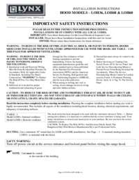 VENT HOOD OWNERS MANUAL.PDF