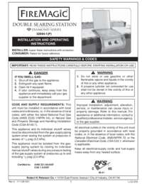 DIAMOND DOUBLE SEAR STATION OWNERS MANUAL.PDF