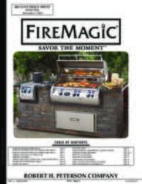 Fire Magic 2013 Catalog