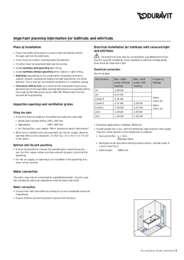 Pre Installation Data Sheet - English