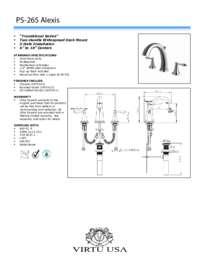 PS-265 Spec Sheet