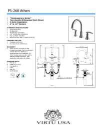 PS-268 Spec Sheet