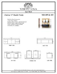 MD-409 Specification Sheet