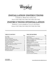 Installation Instruction's