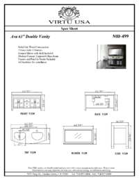 MD-499-Specification Sheet