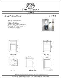 MS-545-Specification Sheet