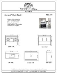 MS-575-Specification Sheet