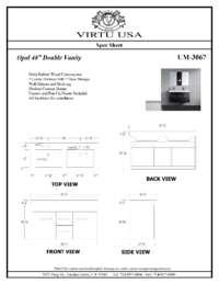UM-3067-Specification Sheet