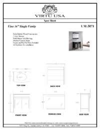 UM-3071-Specification Sheet