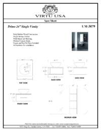 UM-3079-Specification Sheet