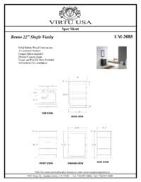 UM-3085-Specification Sheet
