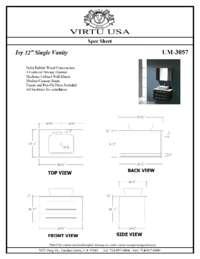 UM-3057-Specification Sheet