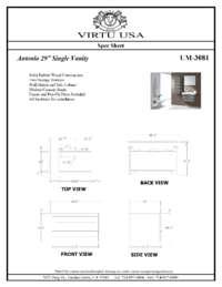 UM-3081-Specification Sheet