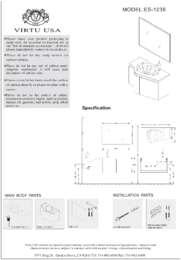ES-1236-Specification Sheet