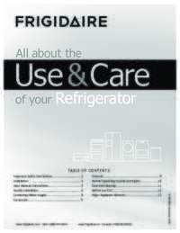 NFTR18X4L Owner's Manual