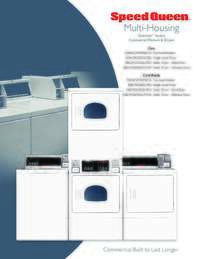 Stack Dryer Advertising Literature Quantum Coin/Card-Op Family