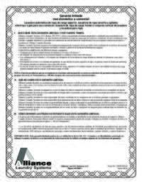 SSG919*F Warranty Bond Spanish; Download Only