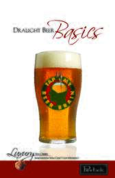 Draught Beer Basics Brochure