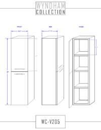 WC-V205 Spec Sheet