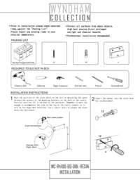 WC-R4100-60-DBL-RESIN-Installation Sheet