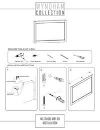WC-R4100-MIR-58-Mirror Installation
