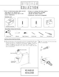 WC-R4100-60-SGL-Vanity Installation