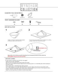 Installation Guide for Undermount Sinks
