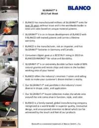 SILGRANIT II Fact Sheet